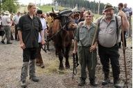 Klaus mit Fabian, Kevin und Michel