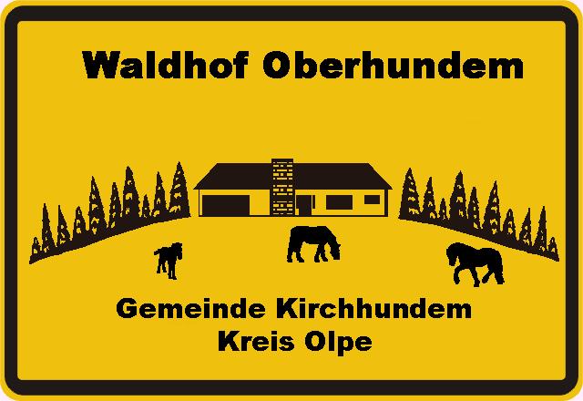 Ortsschild Oberhundem